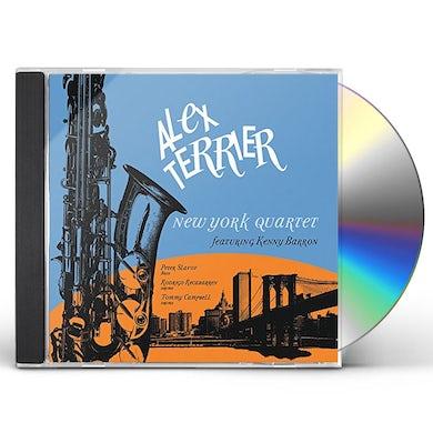 Alex Terrier NEW YORK QUARTET CD