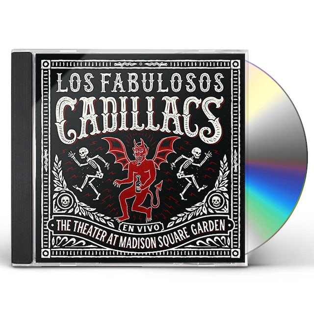 FABULOSOS CADILLACS VIVO EN EL MADISON SQUARE GARDEN CD