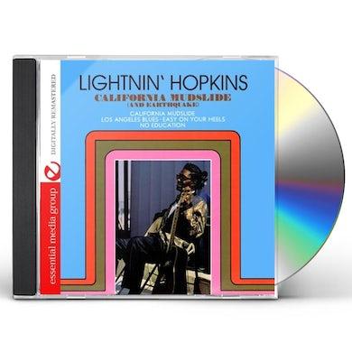 Lightnin Hopkins CALIFORNIA MUDSLIDE & EARTHQUAKE CD