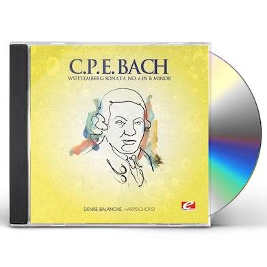 C.P.E. Bach WUTTEMBERG SONATA 6 B MIN CD
