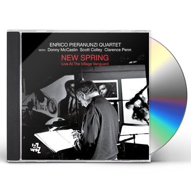 Enrico Pieranunzi NEW SPRING - LIVE AT THE VILLAGE VANGUARD CD