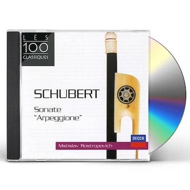 Mstislav Rostropovich SCHUBERT-SONATE ARPEGGIONE ET BRIDG CD