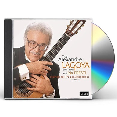 Alexandre Lagoya EDITION WITH IDA PRESTI: COMPLETE CD