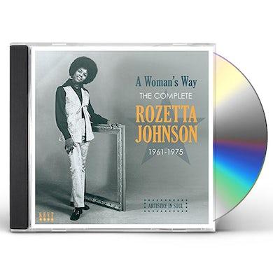 WOMAN'S WAY: COMPLETE ROZETTA JOHNSON 1961-1975 CD