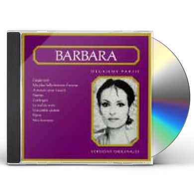 BARBARA DEUXIEME PARTIE CD