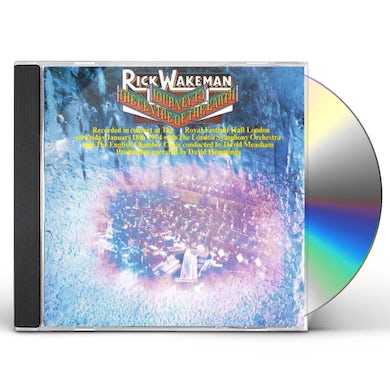 Rick Wakeman JOURNEY TO THE CENTER OF THE EARTH CD