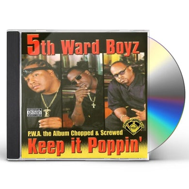 P.W.A. THE ALBUM: KEEP IT POPPIN CD