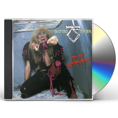 Twisted Sister STAY HUNGRY CD