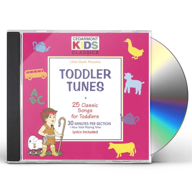 Cedarmont Kids CLASSICS: TODDLERS TUNES CD
