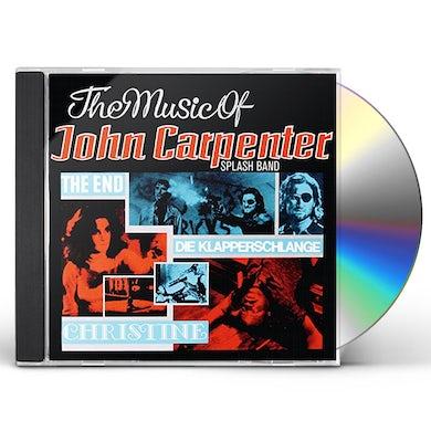 Splash Band MUSIC OF JOHN CARPENTER CD