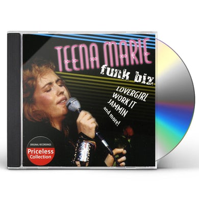 Teena Marie FUNK BIZ CD