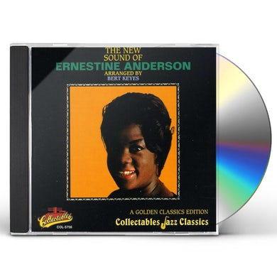 Ernestine Anderson NEW SOUND ARRANGED BY BERT KEYES - GOLDEN CLASSICS CD