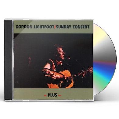 Gordon Lightfoot SUNDAY CONCERT PLUS CD