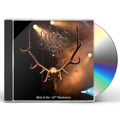 Belenos BEST OF LIVE: 22ND ANNIVERSARY CD