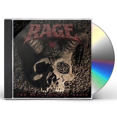 Rage DEVIL STRIKES AGAIN CD
