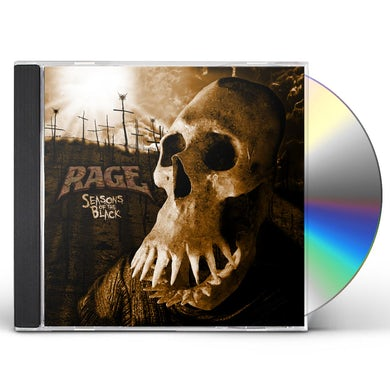 Rage SEASONS OF THE BLACK CD