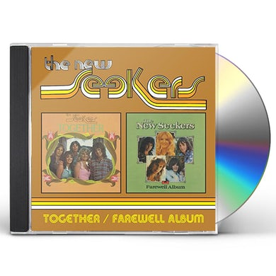 New Seekers TOGETHER / FAREWELL ALBUM CD