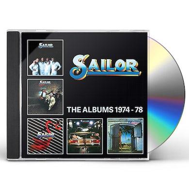 Sailor ALBUMS 1974-1978 CD