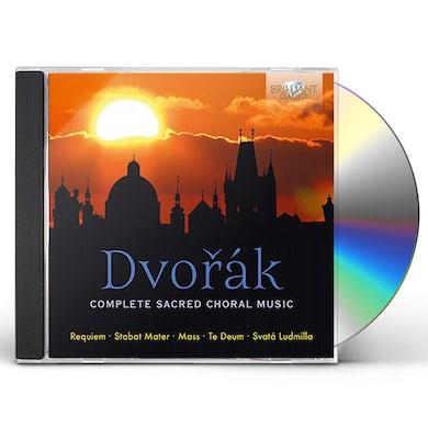 Dvorak COMPLETE SACRED CHORAL MUSIC CD