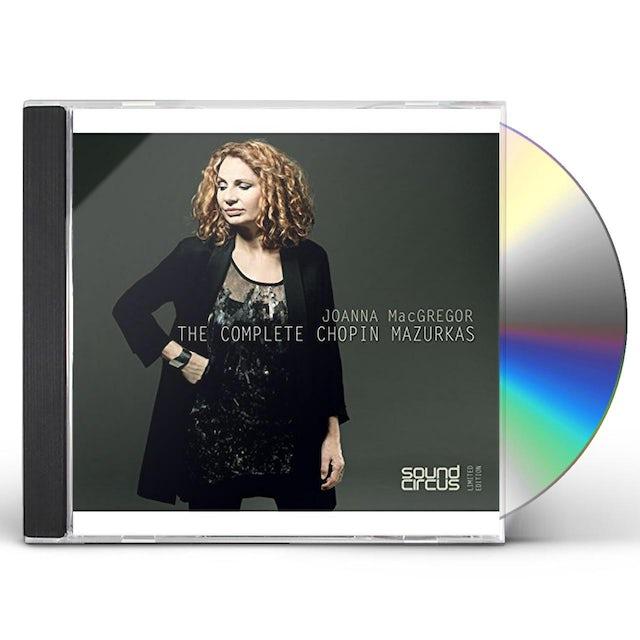 Joanna Macgregor COMPLETE CHOPIN MAZURKAS CD