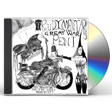 Rudimentary Peni GREAT WAR CD