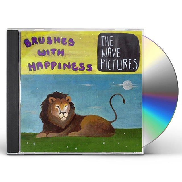 The Wave Pictures BRUSHES WITH HAPPINESS CD