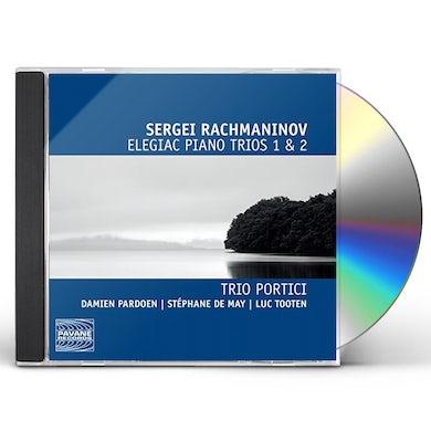 Rachmaninov ELEGIAC PNO TRIOS 1 & 2 CD