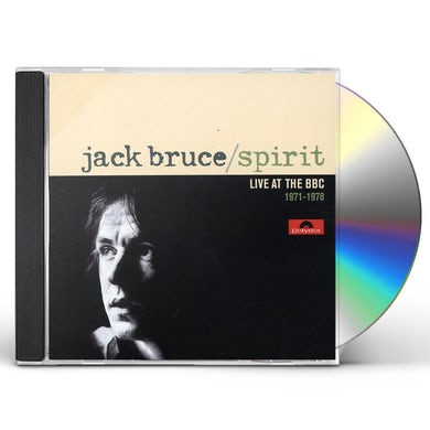 Jack Bruce SPIRIT: LIVE AT THE BBC 1971-1978 CD