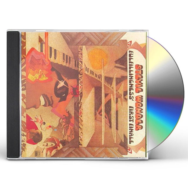 Stevie Wonder FULFILLINGNESS CD