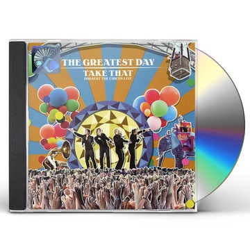 Greatest Day Take That Present The Circus Live Cd