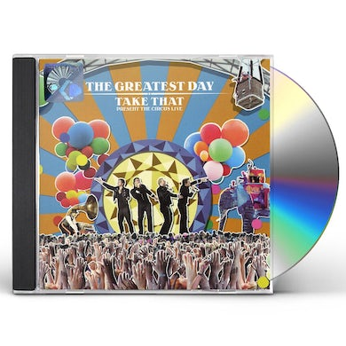GREATEST DAY: TAKE THAT PRESENT THE CIRCUS LIVE CD