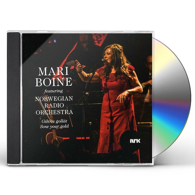 Mari Boine GILVVE GOLLAT: SOW YOUR GOLD CD
