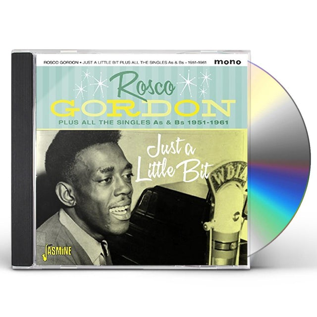 Rosco Gordon JUST A LITTLE BIT PLUS ALL THE SINGLES AS & BS CD