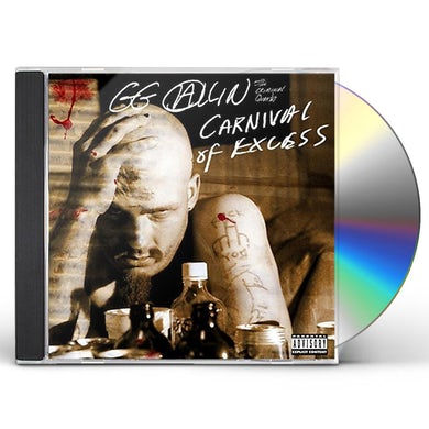 Gg Allin CARNIVAL OF EXCESS CD