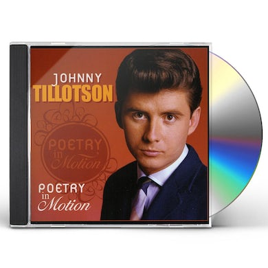 Johnny Tillotson POETRY IN MOTION CD