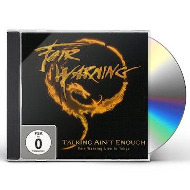 TALKING AINT ENOUGH FAIR WARNING: LIVE IN TOKYO CD