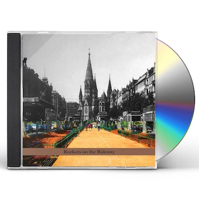 Omer Klein ROCKETS ON THE BALCONY CD