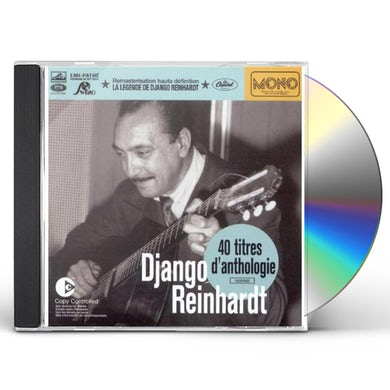 Django Reinhardt 40 TITRES D'ANTHOLOGIE CD