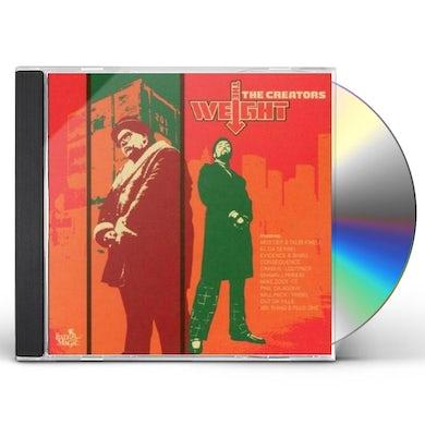 Creators WEIGHT CD