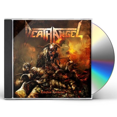 Death Angel RELENTLESS RETRIBUTION CD