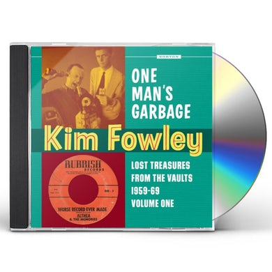 Kim Fowley ANOTHER MAN'S GOLD CD