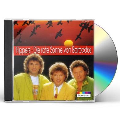 Die Flippers ROTE SONNE VON BARADOS CD