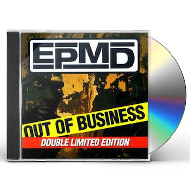 Epmd OUT OF BUSINESS PLUS GREATEST HITS CD