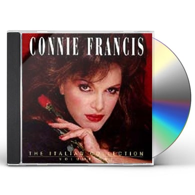 Connie Francis ITALIAN COLLECTION 1 CD