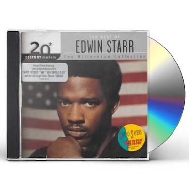Edwin Starr 20TH CENTURY MASTERS: MILLENNIUM COLLECTION CD