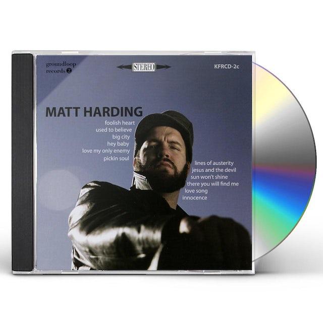 Matt Harding CD