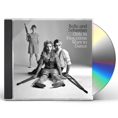 Belle and Sebastian GIRLS IN PEACETIME WANT TO DANCE CD