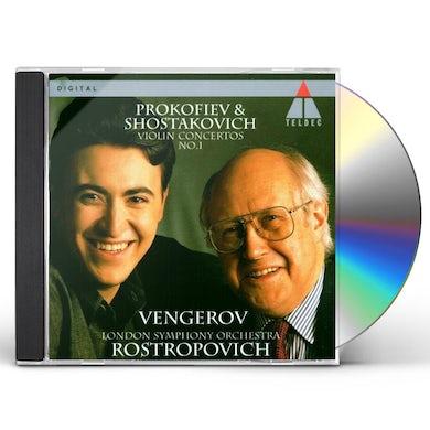 PROKOFIEV: VIOLIN CONCERTO NO.1 / SHOSTAKOVICH: VIOLIN CONCERTO NO.1 CD