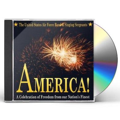 US Air Force Band AMERICA CD