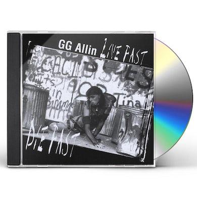 Gg Allin LIVE FAST DIE FAST CD